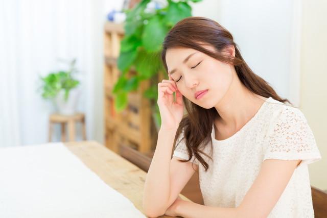 エルダーフラワーの副作用が出た女性