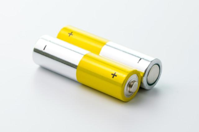 普通の乾電池