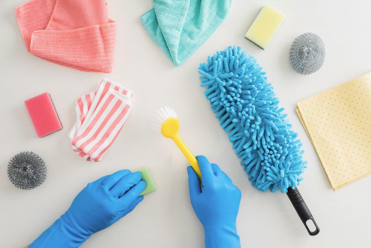 色んな掃除道具