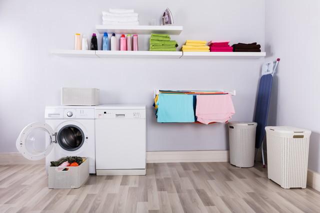 洗濯機のある部屋