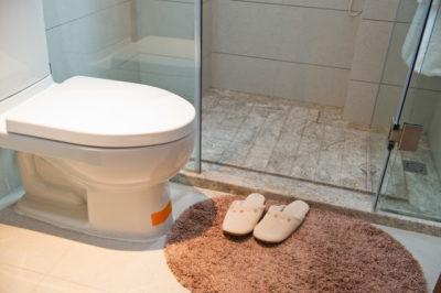 トイレとマット