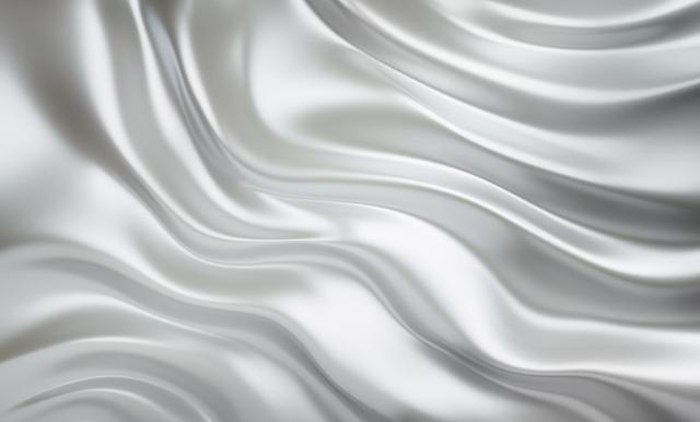 シルク,ホワイト