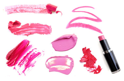 口紅 ピンク系口紅と赤系口紅