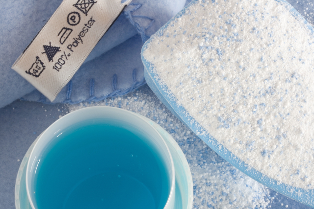 液体洗剤と粉末洗剤