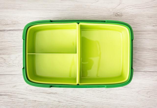 空っぽのお弁当箱