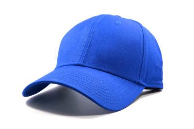 青いキャップ 帽子