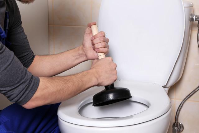 トイレ 詰まり 対処