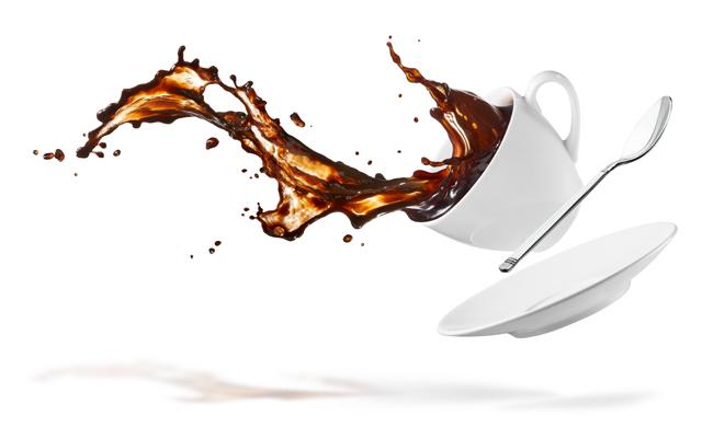 コーヒー こぼす