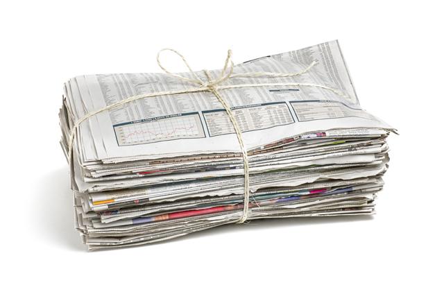 新聞 縛り方