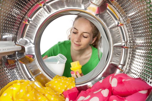 洗濯機 女性 洗剤