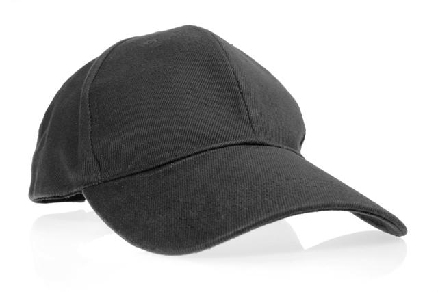 黒いキャップ 帽子