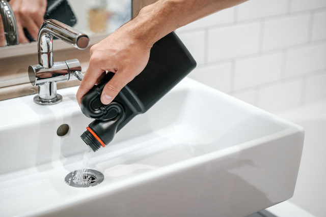洗面台,排水溝洗剤
