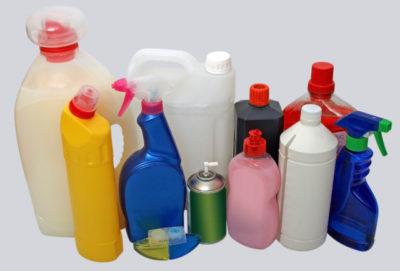 たくさんの洗剤