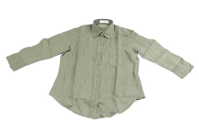 麻のシャツ