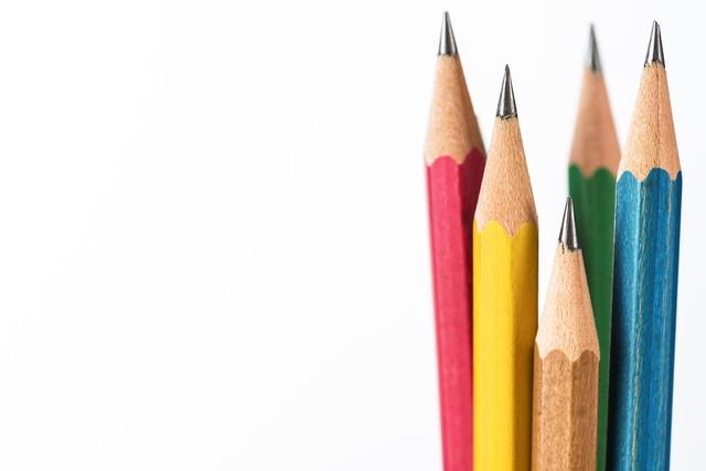 5本の鉛筆