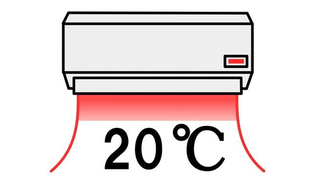 暖房20℃