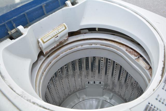 汚れた洗濯槽