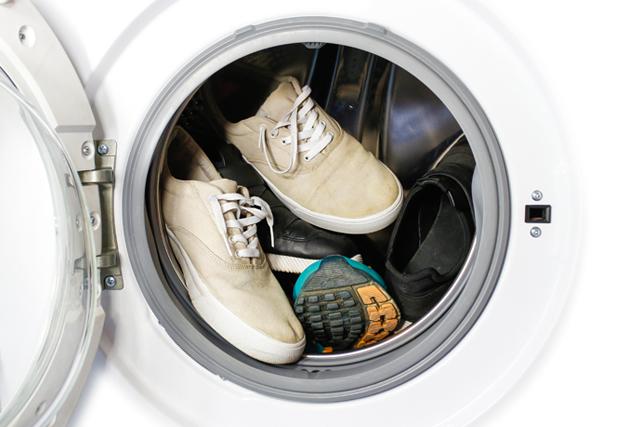 洗濯機 スニーカー