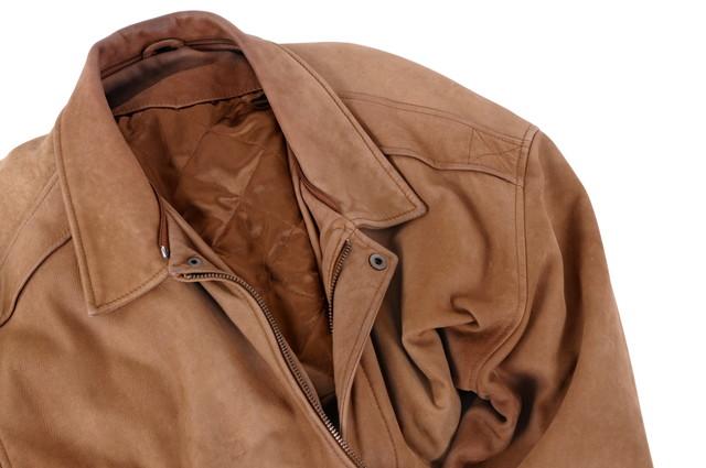 スエードのジャケット
