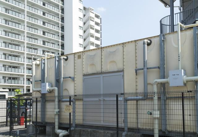 マンション 共同住宅の貯水槽