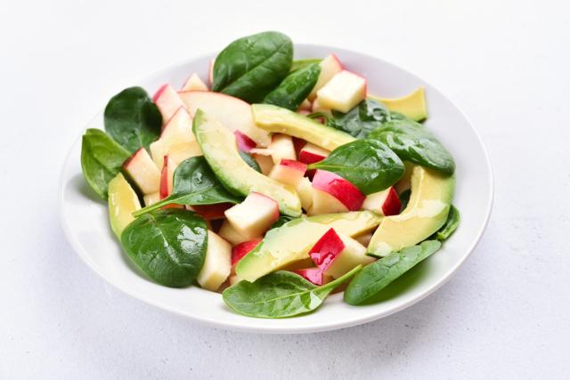 りんごとアボガドのサラダ