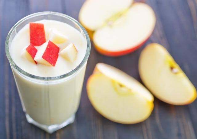 りんごヨーグルト