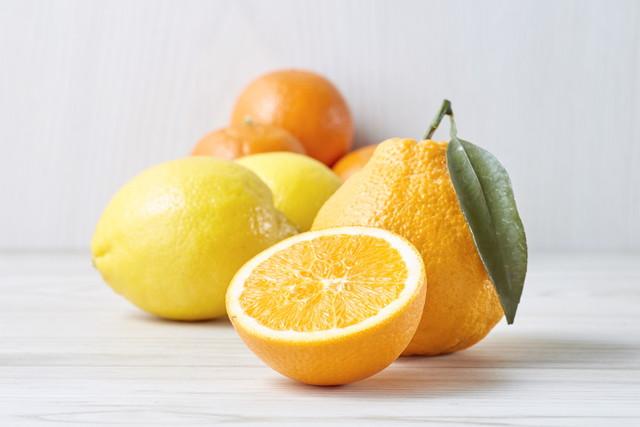オレンジ、デコポン、レモン、(Citrus fruits)