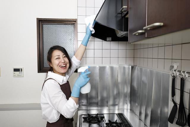 レンジフード 掃除