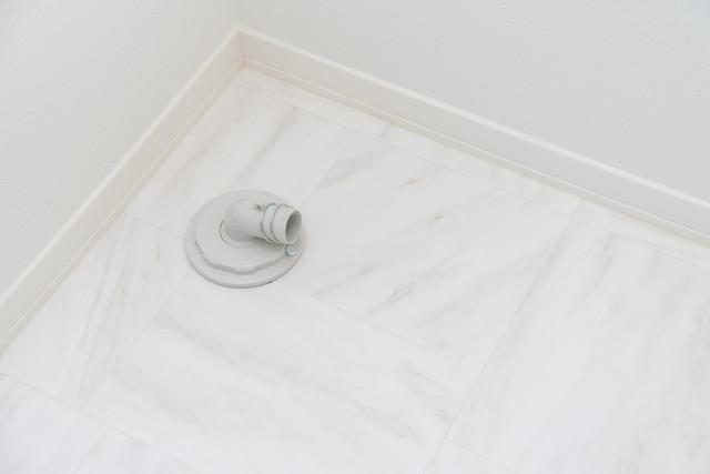 洗濯機の排水溝