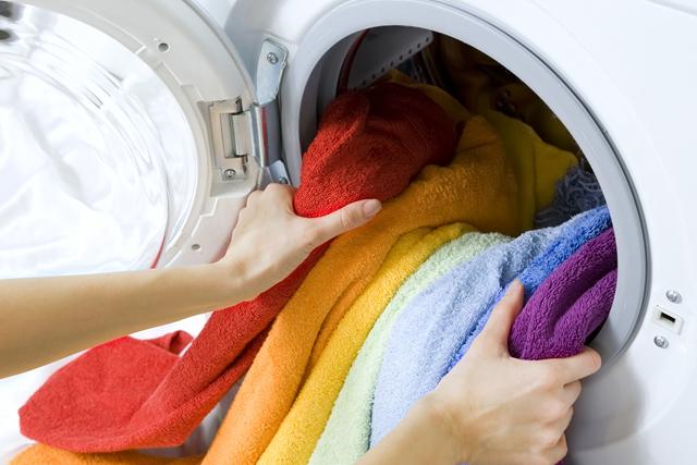 洗濯機 タオル