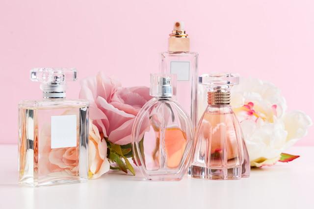 たくさんの香水