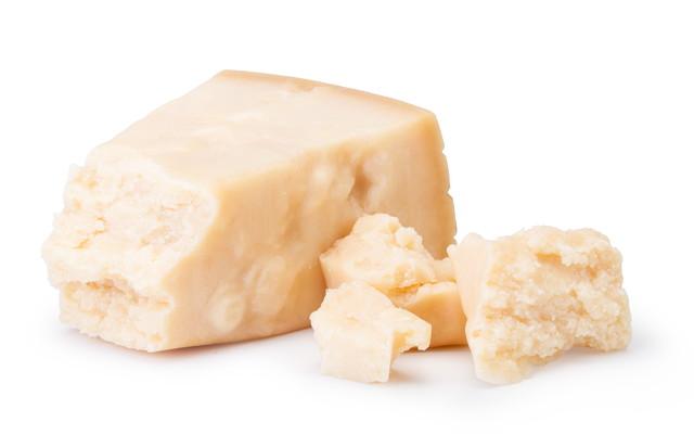 崩れたチーズ