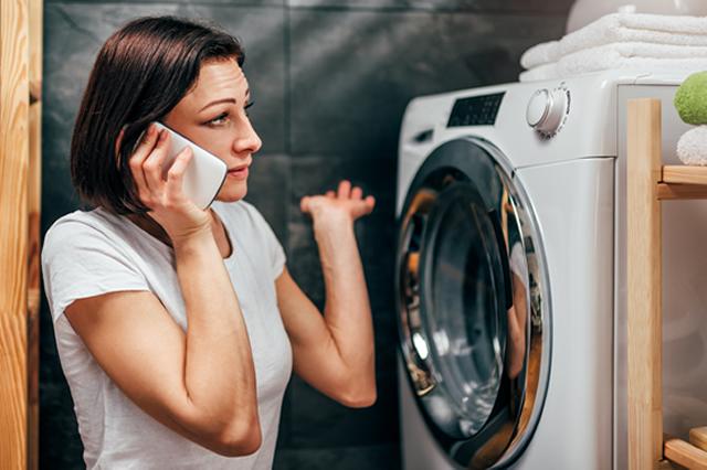 洗濯機の故障