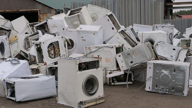 洗濯機捨て場