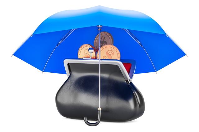 お財布と傘