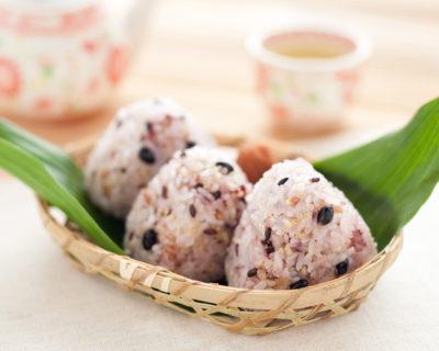 雑穀米のおにぎり