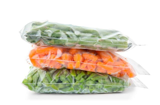 ジッパーに入ったカット野菜