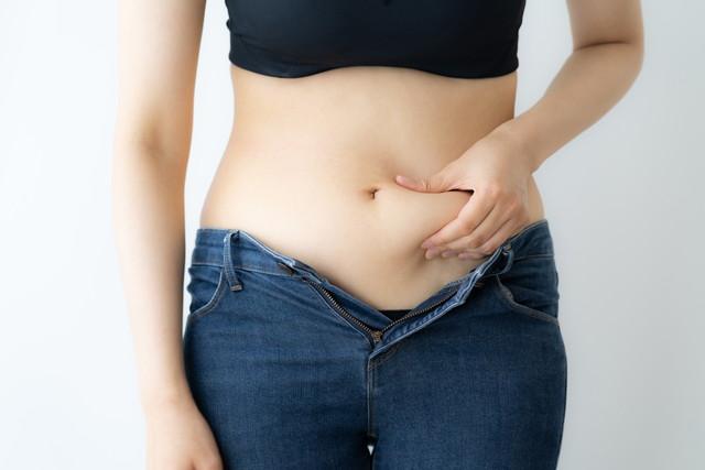女性の体型とお腹