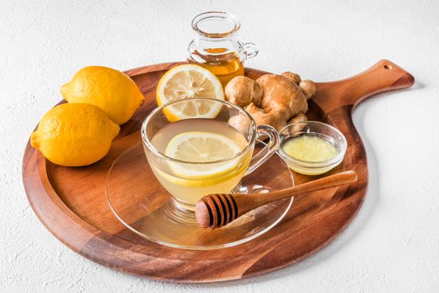 白湯アレンジ