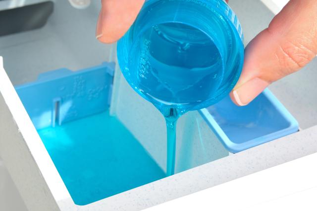 洗剤を入れる