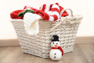 冬の洗濯物