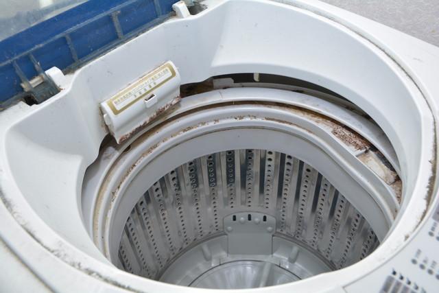 汚れた洗濯機
