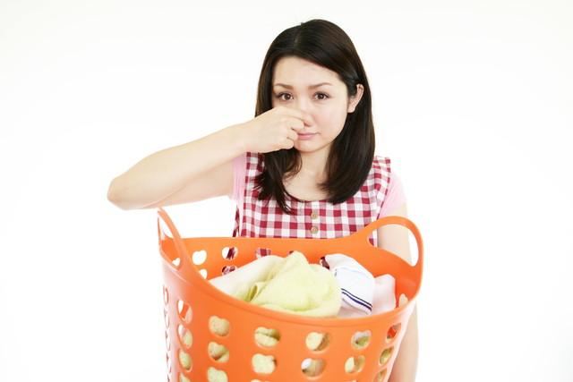 臭い洗濯物