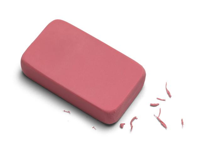 赤い消しゴム