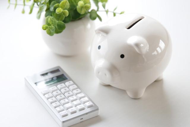 貯金のイメージ豚の貯金箱