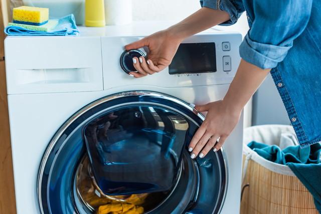 洗濯機を使う