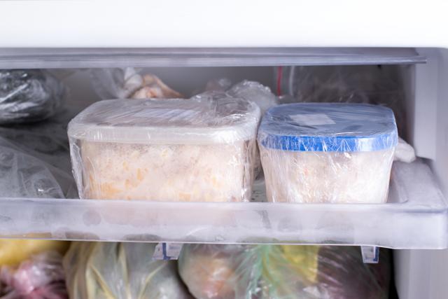 ご飯を冷凍