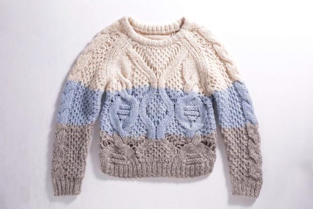 縮んだセーター