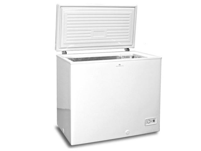 ALLEGiA 冷凍庫 ストッカー(206L) チェストタイプ 上開き AR-BD206-NW