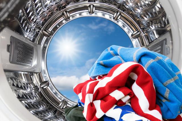 ピカピカ洗濯機